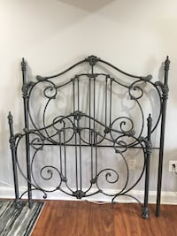 Cast Iron Double Bed and Canopy Olney, 20832