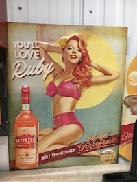 Deep eddy ruby pin up girl sign  West Long Branch, 07764