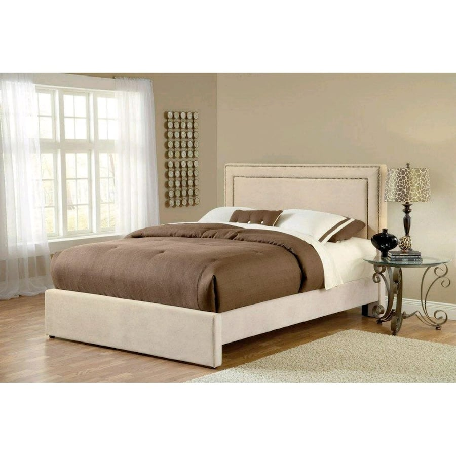 Queen Bed with Mattress and Box Spring