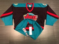 Rare Authentic Bauer Detroit Vipers Hockey Jersey with fight strap  Toronto, M6B 1C9