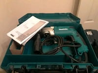 blue and black Makita corded power tool Houston, 77047