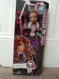 Girls monster high doll clawdeen wolf Emeryville, 94608