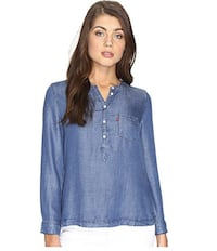 Levi's Long Sleeve Popover With Pocket(New) -M(Reg.Price $55.30) Pickering