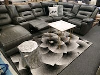 Grayish reclining sectional with chaise available  Jacksonville, 32246