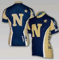 Brand new w/ tags U.S. Navy cycling jersey  (large