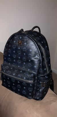 LARGE BLACK MCM BACKPACK Centreville, 20120