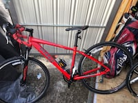 Red and black hardtail mountain bike Dunnellon, 34432