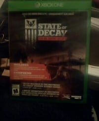 The Walking Dead Xbox 360 game case Nanaimo, V9R