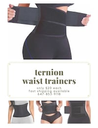 Get A Slim Waist Line Now!! BRAND NEW Waist Trainers (pickup & shipping available) Toronto