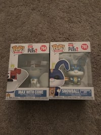 Secret Life of Pets 2 Funko Pop Lot