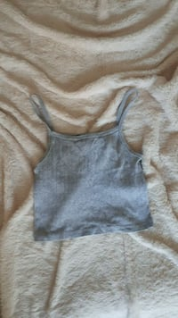 Brandy Melville Grey Knit Tank Top Brampton, L7A 2X7