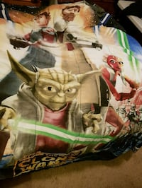 Star Wars Clone Wars twin bedding set Calgary, T3G 5N6