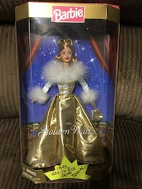 Barbie golden waltz box
