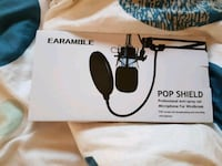 Pop filter for microphone Vancouver, V6P