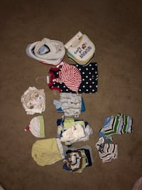 Baby's assorted clothes (0-3) plus one 9 and 12 month Linganore, 21774