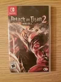 Attack on Titan 2 for Nintendo Switch Fairfax, 22030