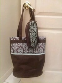 Diaper Bag and Insulated Bottle Bag with Ice Pack Valrico, 33594