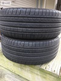 2 tires 225/40r18 $50 for both  Leesburg, 20176