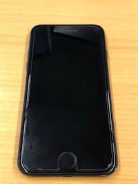 iPhone 7 matte black with charging case