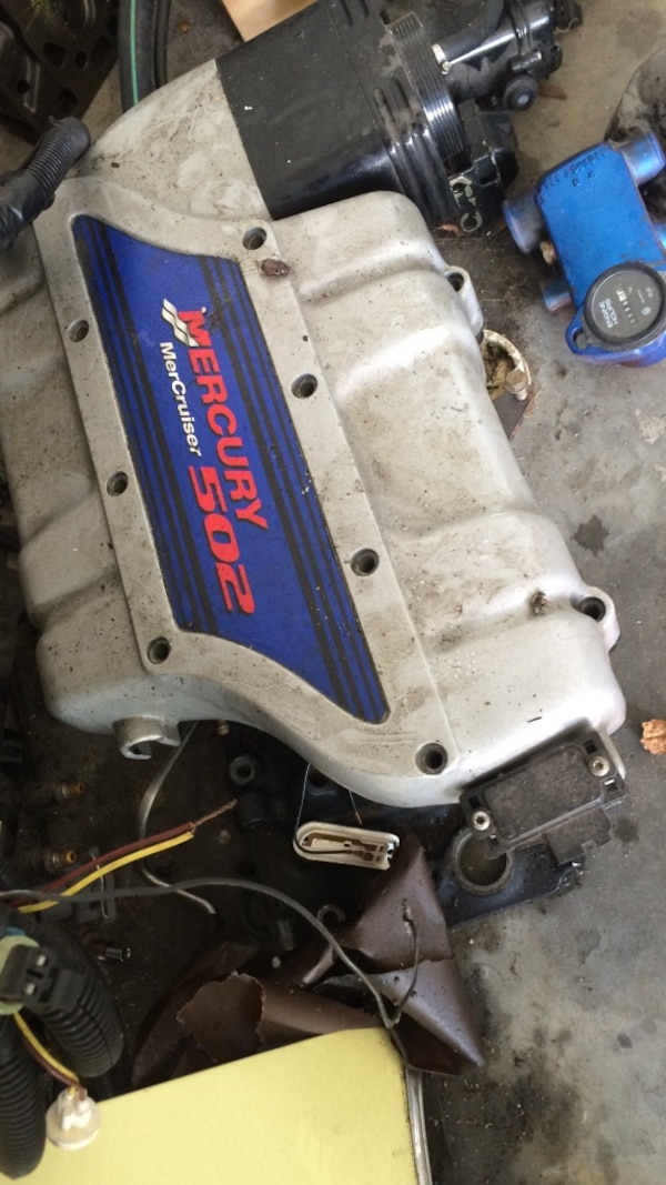 BBC fuel injection plenum injectors ecu and complete wiring harness Mercruiser Wiring Harness on