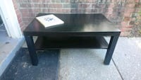Ikea Black Coffee Table  Bethesda, 20814