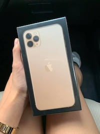 Gold iPhone 11 pro max brand new