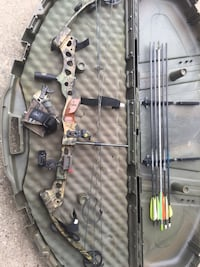 Black and brown compound bow Hopkins, 49328