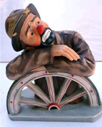 Emmett Kelly Clown Figurine
