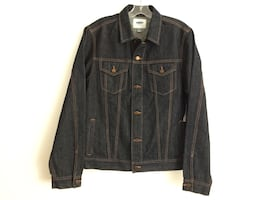 NWT men's size M denim jacket.