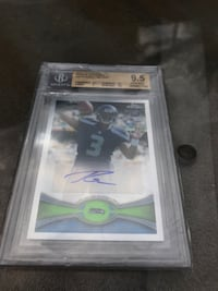 Russell Wilson rc auto