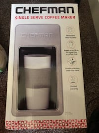 Single serve coffee maker NIB Kuna, 83634