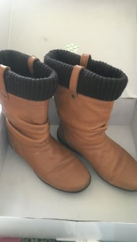 Cougar brown leather winter boots Brampton, L7A 0G1