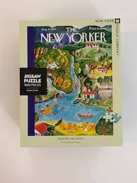 """The New Yorker puzzle 18""""x 24"""" Bethesda, 20814"""