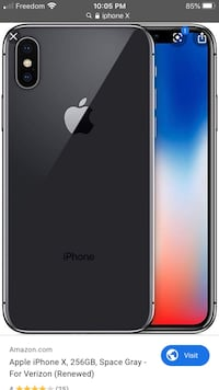 I'm looking for a iPhone X