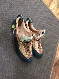 Rock Climbing Shoes by Mythos Terra Olympia, WA, USA