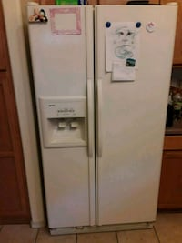 white side by side refrigerator with dispenser Oro Valley, 85755