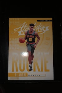 De'Andre Hunter Card