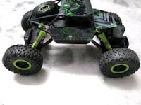 Black green rc monster truck new condition