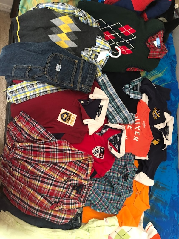 fdd040ad9 1/8. 1/8. Tap to see more pictures. Swipe to see more info. Boys Name brand  clothes gently used. HomeBaby and Child Saint Augustine