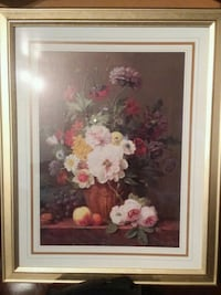 white and pink petaled flowers painting Fairfax, 22032