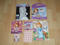 Sofia the First - Coloring and Activity Bundle Surrey