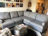 Beautiful new gray/grey sectional! Sofa Couch West Palm Beach, 33401