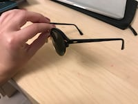 Black framed ray-ban sunglasses with case Calgary, T2T 3P1