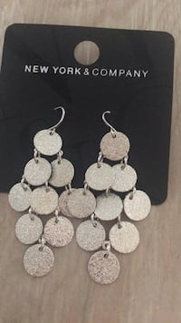 silver-colored necklace and earrings La Habra, 90631