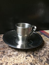 Small cup and plate