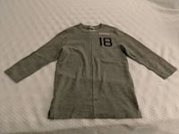 Abercrombie & Fitch Gray Long-sleeve Shirt Ashburn
