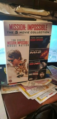 Mission Impossible the 5 movie collection DVD  Oslo kommune, 0986