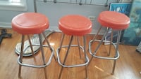 Vintage counter height barstools Fort Worth, 76134