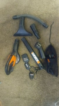 Worx blower with all attachments and charger Palm Desert, 92211