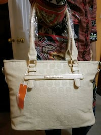 Beautiful beige soft leather tote Mississauga, L4Z 3M4